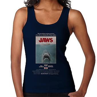 Jaws Movie Poster Women's Vest