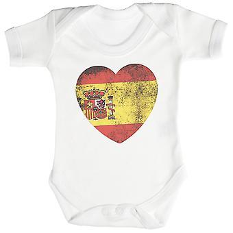 الحب قلب اسبانيا طفل ارتداءها / بيبيجرو