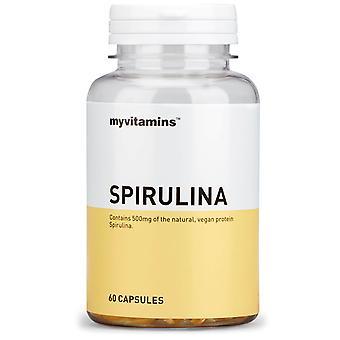 Espirulina (60 Cápsulas) - Myvitamins