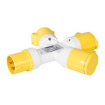 16A 3-bande splitter-110V 3 pin