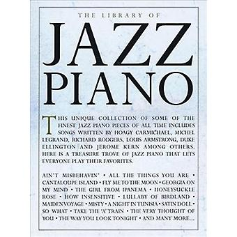 The Library Of Jazz Piano by Hal Leonard Publishing Corporation