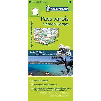 Pays Varois Verdon Gorges  Zoom Map 114 by Michelin