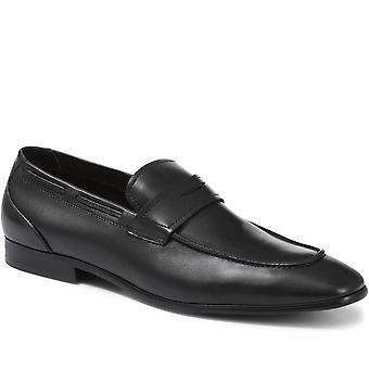 Leather penny loafer - reni