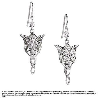 Boucles d'oreilles Arwen Evenstar de Lord Of The Rings Fellowship of the Ring