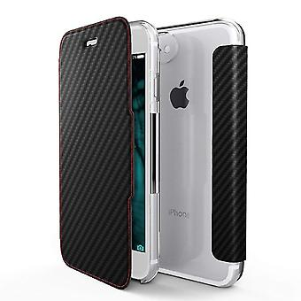 x-doria Engage Series Folio Cover Fashion Case for Apple iPhone 8 7 black