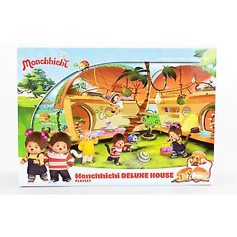 Monchhichi Deluxe casa playset playset cu cifre
