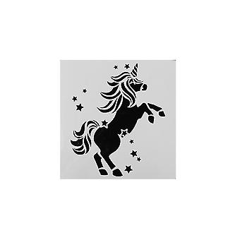Cake Star Unicorn Stencil