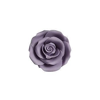 SugarSoft Edible Flower - Roses - Lilac 63mm - Box Of 8