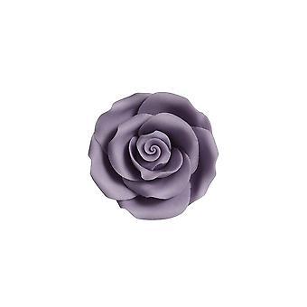 SugarSoft Fiore commestibile - Rose - Lilac 63mm - Scatola Di 8