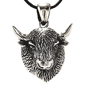 Pendant 277 buffalo - silver