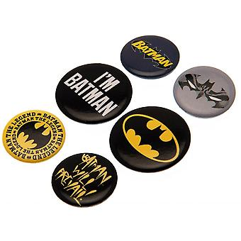 DC Batman bouton badge Set (Pack de 5)