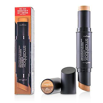 Studio skin shaping foundation + soft contour stick # 2.3 neutraal beige 227014 11.75g/0.4oz