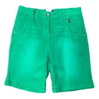 Hydroponic canvas shorts - green