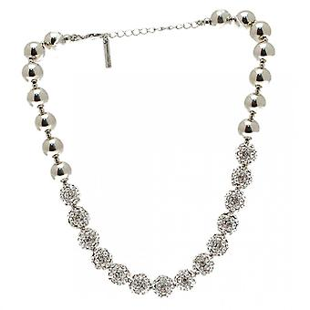 Nour London Diamante Disco Ball Effect Necklace