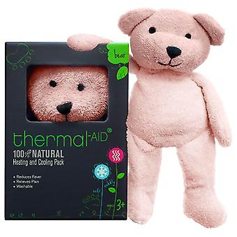 Thermal-aid heating and cooling, pink bear, 1 ea