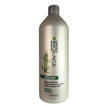 Matrix biolage fiberstrong haarshampoo voor fragiel haar 33.8 oz.