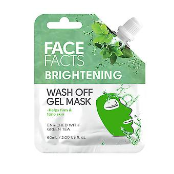 Face Facts Wash Off Gel Face Mask ~ Brightening