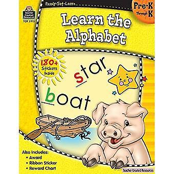 Ready-Set-leren: Het leren van het alfabet Prek-K