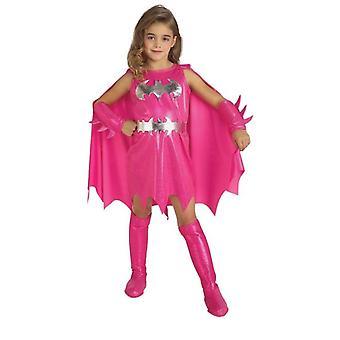 Roze Batgirl. Grootte: peuter