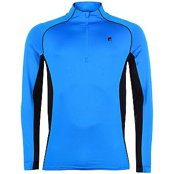 Nevica Mens Gents Vail Zip Funnel Neck Long Sleeve Warm Winter Sports Top