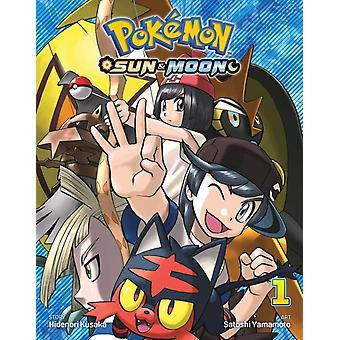Pokemon Sun  Moon Vol. 1 by Hidenori Kusaka
