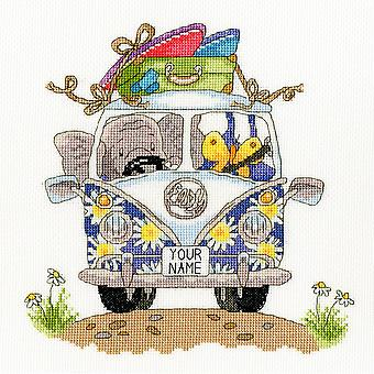 Bothy Threads Cross Stitch Kit - Pack Your Trunk