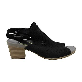 Earth Womens Ivy Syrah Cuir Open Toe Ankle Strap Mules