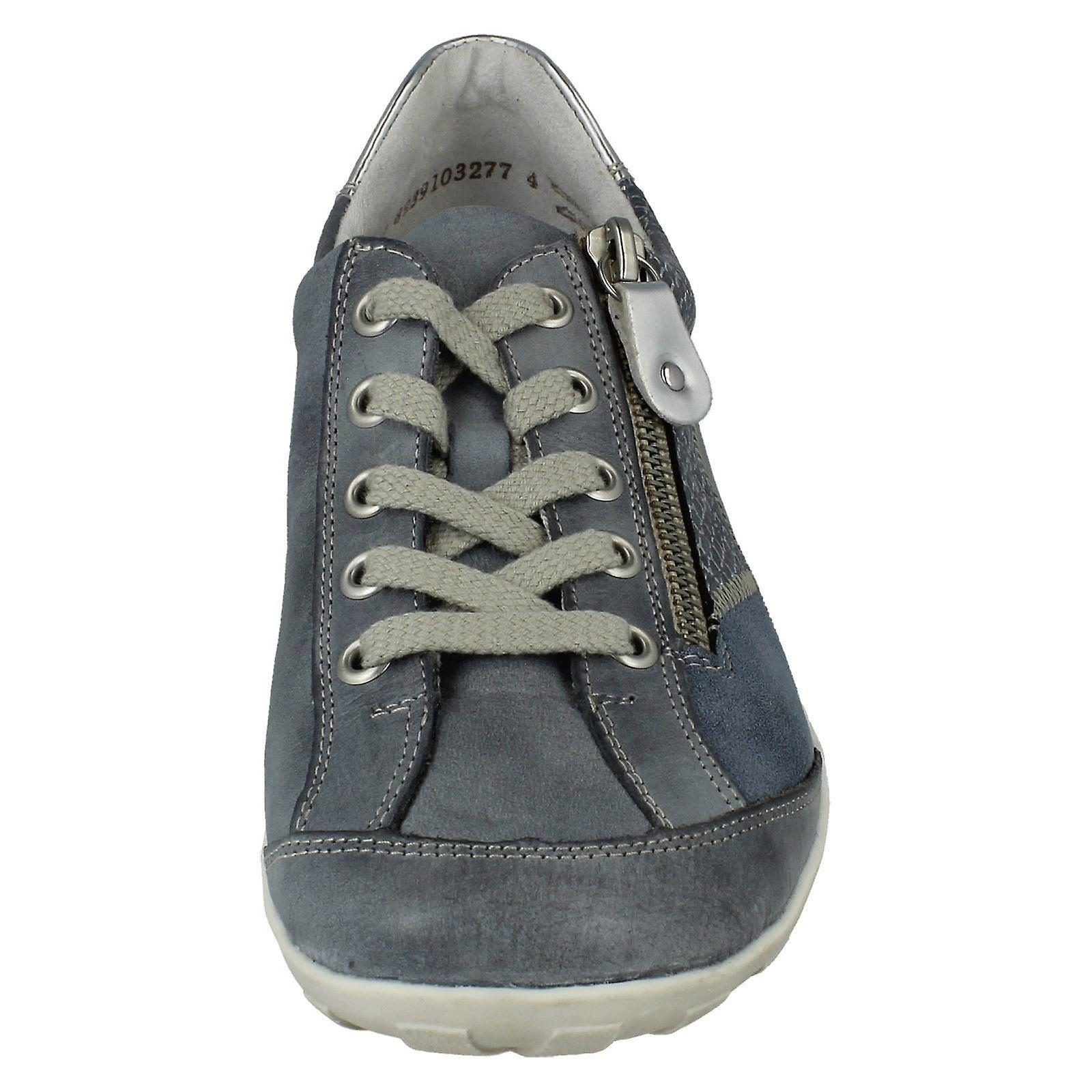 Ladies Remonte Lace Up Casual Shoes R3405