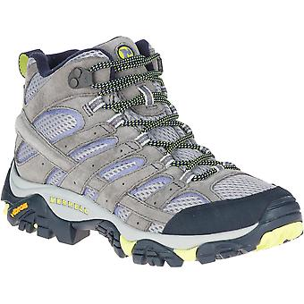 Merrell Womens Moab 2 Vent Mid Suede Leather Walking Boots