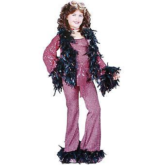 Disco Princess barn kostym