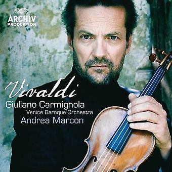 Giuliano Carmignola - Vivaldi [CD] USA import