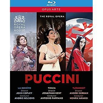 Importer des USA de Puccini Opéra Collection [Blu-ray]