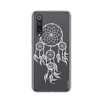Rumpf für Xiaomi Mi 9 Se Weich Gefangene Weiße Träume