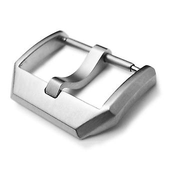Strapcode watch buckle 18mm, 20mm top quality stainless steel 316l spring bar type 3mm-tongue buckle, brushed