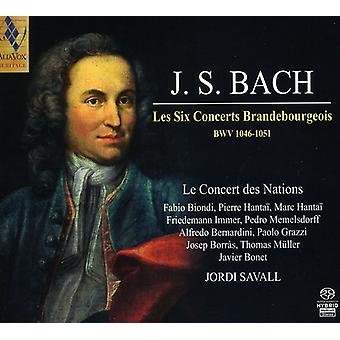 J.S. Bach - Bach: Les Six Concerts Brandebourgeois [SACD] USA import