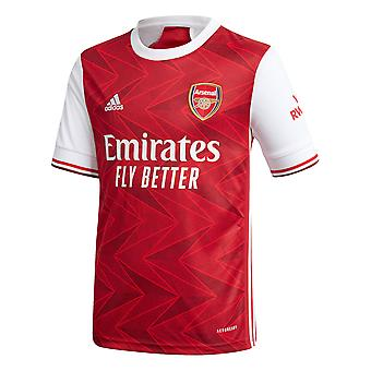 adidas Arsenal 2020/21 Kids Home Football Maillot Maillot Rouge