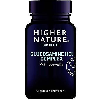 Higher Nature Vegetarian Glucosamine Hydrochloride Vegitabs 180 (GLHV180)