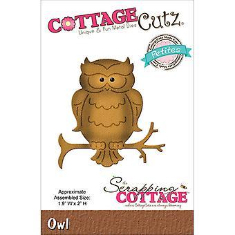 Scrapping Cottage CottageCutz Owl (Petites) (CCP-021)