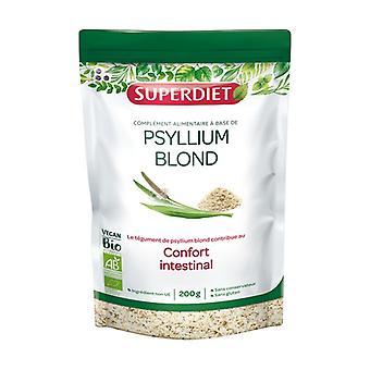ORGANIC blond psyllium 200 g of powder