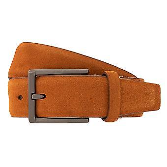 Cinture da cintura cinture uomo LLOYD maschile pelle Cintura Cognac 4042 camoscio