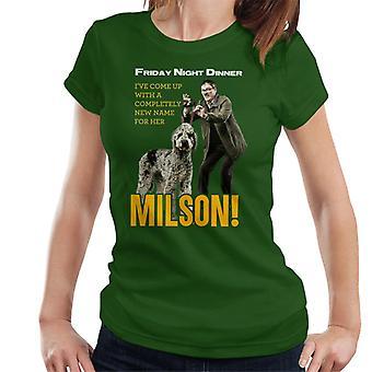 Friday Night Dinner Naming Milson Women's T-Shirt