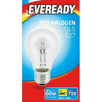 Lâmpada Eveready Eco GLS E27