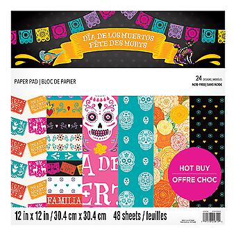 Craft Smith Day of the Dead 12x12 Inch Paper Pad