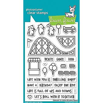Lawn Fawn Coaster Critters Clear Stamps