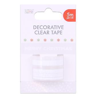 Simply Creative Basics Decorative Clear Tape