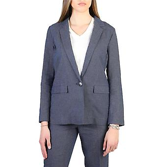 Armani jeans 3y5g42  women's cotton and linen blazer