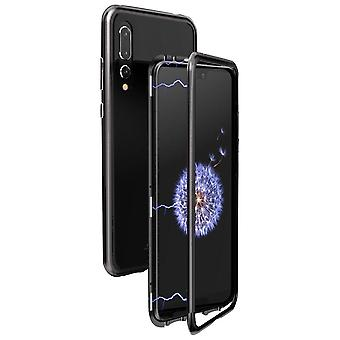 Armor Shell for Huawei P20 Pro Aluminum Protective Glass Beech Hard-Plastic Metal Black