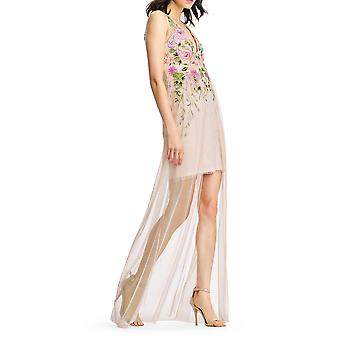 Aidan Mattox | Floral Embroidered Gown Dress