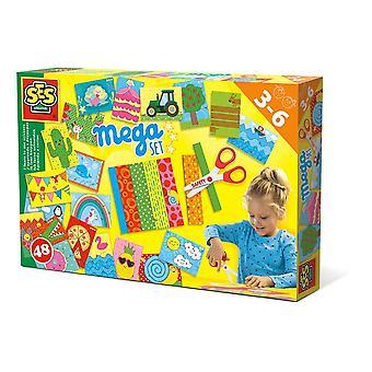 SES Creative Children's I Learn to Use Scissors Mega Set (14617)