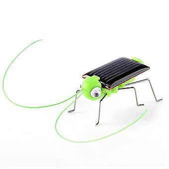 Koulutus Aurinkovoimalla heinäsirkka robotti lelu (vihreä)